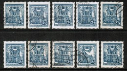 AUSTRIA  Scott # 625 USED WHOLESALE LOT OF 10 (WH-269) - Stamps
