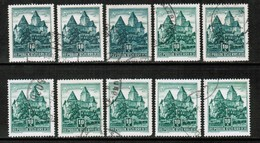 AUSTRIA  Scott # 630 USED WHOLESALE LOT OF 10 (WH-270) - Stamps