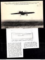 1508 AV62 AK PC CPA LE MONOPLAN R ESNAULT PELTERIE N 2 NC TTB - ....-1914: Precursori