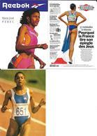 JEUX OLYMPIQUES BARCELONE 1992 - ATLANTA 1996 - MARIE JOSEE PEREC - ATHLETISME - Jeux Olympiques