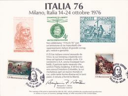 GIORNATA MONDIALE GIOVENTU' FILATELICA  / 1976 - 6. 1946-.. Repubblica