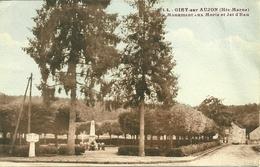 52  GIBY SUR AUJON - MONUMENT AUX MORTS ET JET D' EAU (ref 2873) - Autres Communes