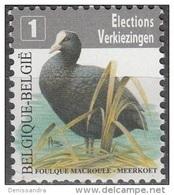 Belgique 2010 COB 4042 Neuf ** Cote (2016) 0.80 Euro Foulque Macroule - Ongebruikt