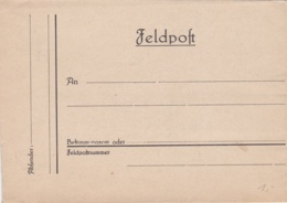 Mint German Feldpost Letter From WW2 (DD4-58) - Militaria
