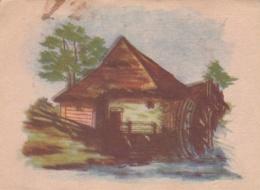 German SS Feldpost WW2: Postcard Painting From A SS-Nachrichtenschule (faint Cachet) P/m Mörchingen 10.11.1943 (DD4-58) - Militaria