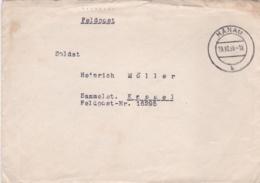 German Feldpost WW2: To 10. Kompanie Infanterie-Regiment 367 FP 16295 At Feldpostsammelstelle - Militaria