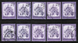 AUSTRIA  Scott # 962 USED WHOLESALE LOT OF 10 (WH-271) - Stamps