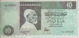 LIBYA P. 56 10 D 1989 VF - Libya