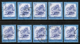 AUSTRIA  Scott # 963 USED WHOLESALE LOT OF 10 (WH-272) - Stamps