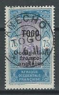 Togo Yv. 97, Mi 38 - Oblitérés