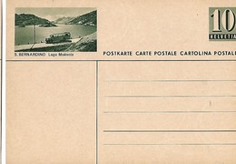 "4 - 89 - Entier Postal Neuf Avec Illustration ""S. Bernardino"" - Entiers Postaux"