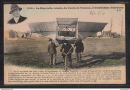1457 AV04 AK PC CPA LA BICYCLETTE VOLANTE NON CIRCULER TTB - ....-1914: Precursori