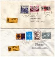 OS35AUSTRIA 1979 Storia Postale Lotto 4 Raccomandate - 1945-.... 2nd Republic