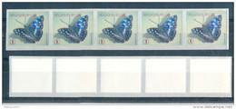 OCB Nr 4290 Fauna Butterfly Papillon Vlinder / Bande  Strook  MNH !!! ZONDER Nr - SANS N° - Franqueo