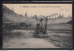 1480 AV027 AK PC CPA LE NOUVEL AEROPLANE DE SANTOS DUMONT NON CIRCULER TTB - ....-1914: Precursori