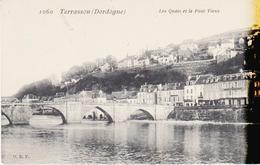 TERRASSON - Les Quais Et Le Pont Vieux - Autres Communes