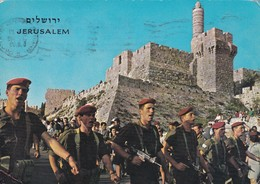 ROUTE MARCH ANNUAL PILGRIMAGE TO JERUSALEM. PALPHOT. CIRCULEE 1969 ARGENTINE-BLEUP - Israël