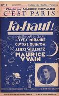 """C'est Paris""""  """"Maurice Chevalier""""Partitions Musicales Anciennes - Spartiti"""