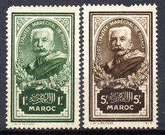Col10    Maroc  N° 151 & 152 Neuf XX MNH  Cote : 76,00 Euro Cote 2015 - Morocco (1891-1956)