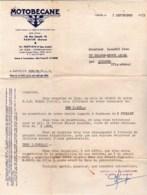 93 - Pantin  - Facture Relance De 1953 - Motobecane - Cycles Et Motos - France