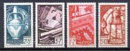 Col10    Maroc  N° 188 à 191 Neuf X MH  Cote : 10,00 Euro Cote 2015 - Morocco (1891-1956)