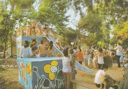 KIDS PLAYING, ISRAEL. THEME A IDENTIFIER. PALPHOT. CIRCULEE 1975 ARGENTINE-BLEUP - Israël