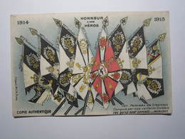 1914 - 1915 Honneur à Nos Héros, Drapeaux Conquis Par Nos Vaillants Soldats, Exposés Aux Invalide - War 1914-18