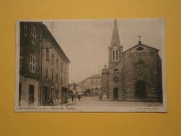 BUSSIERES PLACE DE L'EGLISE 1943 - Frankrijk
