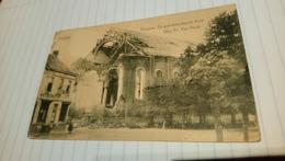CPA - Evergem - De Gebombardeerde Kerk - 1924 - Evergem