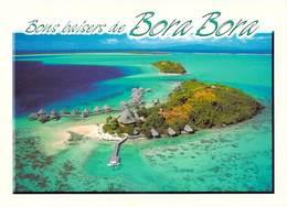 Polynésie Française- BORA BORA Vue Aérienne De L 'Hôtel SOFITEL MOTU  (BV)  TEVA SYLVAIN Tahiti  1443 - Polynésie Française