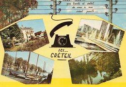 CPSM - MULTI VUES - CRETEIL - Creteil