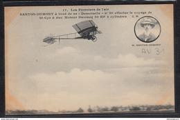 1484 AV031 AK PC CPA SANTOS DUMONT A BORD DE SA DEMOISELLE 20 NON CIRCULER TTB - ....-1914: Precursors