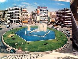 GRECE  ATHENS  ATENE  PIAZZA OMONIA   STAMP TIMBRE  SELO  4,50 COSTUMI FOLK  GX5659 - Grecia