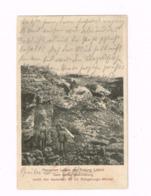 Panzerfort Loncin Der Festung Lüttich Nach Seiner Beschiessung.Expédié En Feldpost à Nauort. - War 1914-18