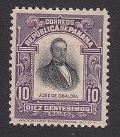 Panama, Scott #201, Mint No Gum, Obaldia, Issued 1909 - Panama