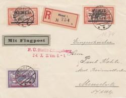 Deutsches Reich Memel R Brief 1922 - Memel (Klaïpeda)
