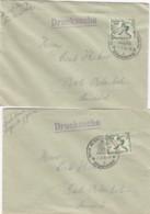 Deutsches Reich 4 Olympiade Briefe 1936 - Germania