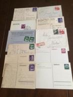 +++ Sammlung 10 Postkarten Und Briefe General Gouvernement Deutsches Reich 1940-41 +++ - Collections (without Album)