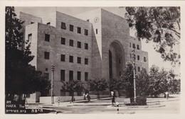 HAIFA. THE MUNICIPALITY. PALPHOT CIRCA 1940s NON CIRCULEE-BLEUP - Israël