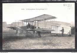 1484 AV031 AK PC CPA SANTOS DUMONT A BORD DE SA DEMOISELLE 20 NON CIRCULER TTB - ....-1914: Precursori