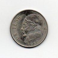 Messico - 1983 - 1 Peso - Vedi Foto - (MW1846) - Messico