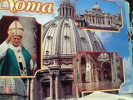 VATICANO ROMA PAPA GIOVANNI PAOLO II  STAMP TIMBRE  SELO 800 LIRE VIAGGI NIGERIA MARZO 1998  GX5661 - Vatican