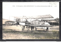 1489 AV040 AK PC CPA L AEROPLANE DELAGRANGE N 2 NON ECRITE TTB - ....-1914: Precursori