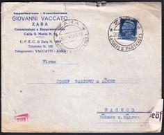 Croatia Zadar Zara 1940 / WWII / CENSORSHIP - ZENSUR / Oberkommando Der Wehrmacht Geöffnet - Croatia