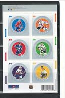 "CANADA 2005 ""NHL ALL STARS"" Bklt.#2086 Cmlt. MNH - 1952-.... Elizabeth II"