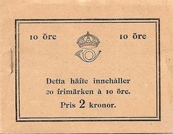 SWEDEN, 1932, Booklet 23 0 (Facit), Mi 216, Battle Of Lützen, Inverted - Boekjes