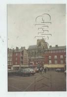 Abbeville (80) : Photo Projet CP GF Le Parking De La Place De La Mairie Magasins En 1992 (animé) RARE. - Abbeville