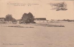 ***  33  ***  CAZAUX  école D'aviation Façade Du Bassin - Et Hydravion Timbrée  TTB - France