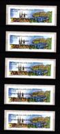 Atm-Lisa / Brother Lot 0.78, 0.80, 0.95, 1.20, 1.30 €  France-Croatie, Salon D'automne Paris 2018 - 2010-... Vignettes Illustrées