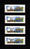 Atm-Lisa / Nabanco Lot 0.78, 0.80, 0.95, 1.20 €  France-Croatie, Salon D'automne Paris 2018 - 2010-... Illustrated Franking Labels